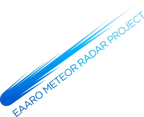 EAARO Meteor Radar Project logo